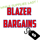 Blazer Bargains - While Supplies Last