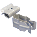 Flange-Mount Conduit Clip - Push-In