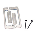 Low Voltage Mounting Plate With Screws