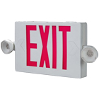 Exit Signs w/ Emergency Lights
