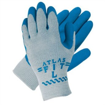 CGC 300-M ATLAS LATEX COATED BLUE MEDIUM
