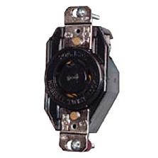 HUB L1630R LKG RCPT, 3P4W, 30A 3PH 480V, L16-30R